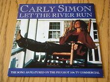 """CARLY SIMON - LET THE RIVER RUN    7"""" VINYL PS"""