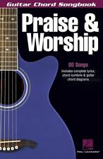 Praise & Worship Sheet Music Guitar Chord SongBook NEW 000699634