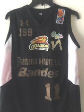 New Venezuela Guaros De Lara Bbc Basketball Venezuela No.11 Large Black