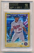2015 Topps Chrome BYRON BUXTON Rookie GOLD Refractor #29/50 BGS 10 BLACK LABEL