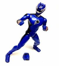 "12"" 1/6th POWER RANGERS Jungle Fury toys BLUE TIGER RANGER figure NICE!"