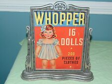 Vintage Doll Advertising Whopper 16 Dolls 200 Pieces Of Clothes