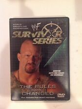 WWF - Survivor Series 2000: The Rules Have Changed (DVD, 2001)Authentic US