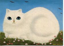 POSTCARD CARTE POSTALE ILLUSTRATEUR ANNA HOLLERER N° LA 109 / CAT / CHAT
