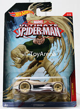 Hot Wheels Marvel Ultimate Spider-Man 2015 Ettorium 1/64 Rare Die-Cast Car