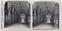 Rouen Passage Da La Cour Dei Conti Francia Foto Stereo Vintage Analogica 1930