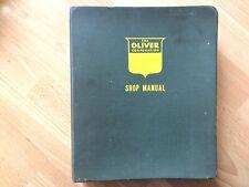 Oliver Vintage Service Manual 66 77 88 Tractors Original