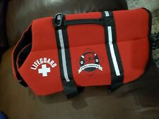 Dog life jacket large