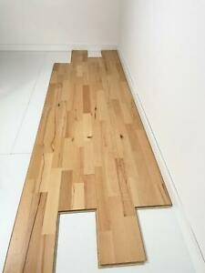 Parkettboden Buche lebhaft ged 3-Stab lackiert B-Ware Restposten 40,32 m²