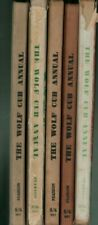 More details for  wolf cub annuals 1957 1959 1961 1962 1965  boy scouts  e1.1523