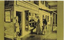 General Store Postcard Reconstructed At The Newark Museum For Centennial 1936