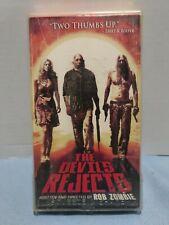 "Rare 2005 ""The Devil's Rejects"" VHS Lion's Gate Home Entertainment Rob Zombie"