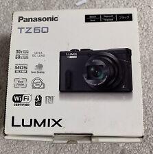 Panasonic LUMIX DMC-TZ60 18.1MP Digital Camera - Black