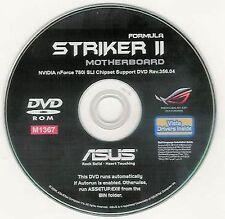 ASUS STRIKER II FORMULA Motherboard Drivers Installation DISK M1367