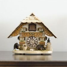TRADITIONAL HERMLE BENDORF CUCKOO WALL CLOCK NEW