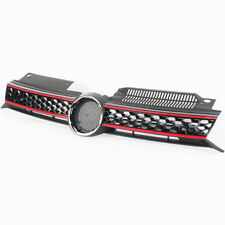 Front Upper Hood Honeycomb Mesh GTI Style Grill Grille For VW Golf GTI MK6 10-13