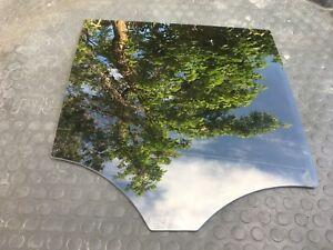 MERCEDES BENZ ML350 DOOR WINDOW GLASS REAR RIGHT BLACK OEM