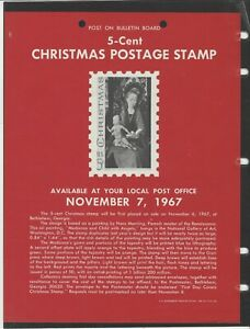 UNOFFICIAL SOUVENIR PAGE 5 CENT CHRISTMAS NO STAMPS
