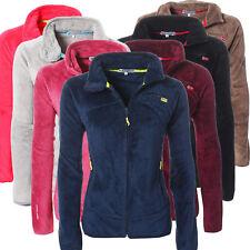 Geographical Norway  Damen Fleece Jacke  Sweatjacke Teddy Fleece S,M,L,XL,XXL