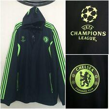 ADIDAS Chelsea Soccer UEFA Champions League Football Club Coat Jacket 2XL NEW