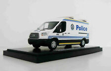 Australian NSW Police Van,Vehicle,Car Custom Graphics 1/43 White Diecast