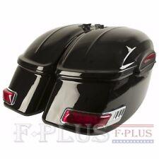 RS Motorcycle Hard Saddlebags fits most ROAD STAR V STAR Royal Star Marauder VTX