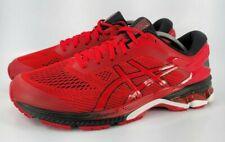 Asics Gel Kayano 26 Athletic Running Shoe Mens Size 11.5 1011A541 Red Black