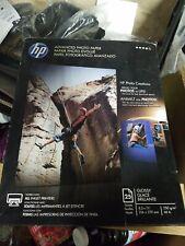 E HP Glossy Advanced Photo Paper, 25 Sheets, 8.5 x 11 inches