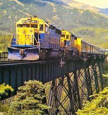 Alaska Railroad Skagway Trains Lot Of 3 Postcards ~ Fabulous!! ~