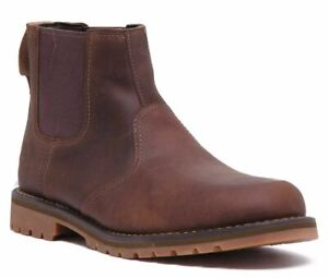 Timberland A1Ojf Larchmont Chelsea Boot In Dark Brown Size Uk 6 - 12