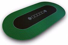 Pro Pokertischauflage 180x90cm - Bullets Playing Cards - Pokerauflage Pokermatte