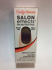 SALLY HANSEN SALON EFFECTS REAL NAIL POLISH STRIPS ( #285 THE BOLD RUSH ) NEW.