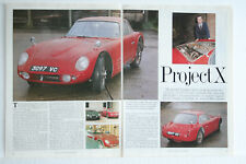 Triumph TRS + Le Mans 1960 Infomation Motoring Article epherma 3 page sides