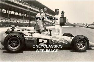 1969 MARIO ALDO ANDRETTI INDY 500 SPEEDWAY WINNER AUTO RACING LOTUS 8X10 PHOTO