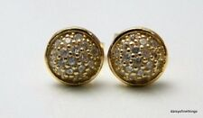 AUTHENTIC PANDORA EARRINGS 14K DROPLETS STUDS CLEAR CZ #256212CZ HINGED BOX