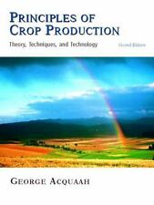 Principles of Crop Production 2nd Int'l Edition