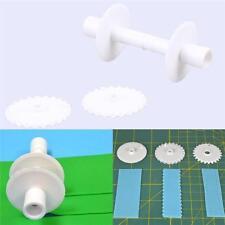 6x Cutter Multi Ribbon Cake Cutting Stencil Tool Plain Wavy Stich Line Border LC