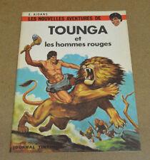AIDANS - TOUNGA - 2 - ET LES HOMMES ROUGES - EO 1967 ( QUASI NEUF ! )