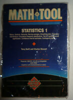 MATHTOOL : STATISTICS 1 by Gulf Publishing Co. - For IBM PC... SEALED, BRAND NEW