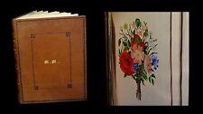 [BOTANIQUE Reliure] Album de superbes dessins originaux. 1872.