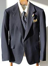 Gieves & Hawkes Savile Row 41R Navy Blue Textured Sport Coat - $1,295.00