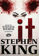 IT by Stephen King - 4xMP3 CDs  – Audiobook - 45 hours