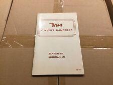 BSA Bantam 175/175 1969 Propietarios Manual Bushman 00-4155 [3-63]