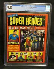 On The Scene Presents Super Heroes #1 1966 Silver Age Batman CGC 9.8 CZ109