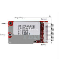 1pc 13S Li-ion 48V/54.6V 18650 Lithium Cell BMS PCB Board Battery Protection MF