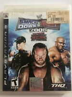 WWE SmackDown vs. Raw 2008 Featuring ECW - PlayStation 3 - PS3