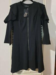Cue black dress size 10 NWT