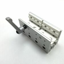 """80/20 6873 Linear Bearing Assembly, 6"""" x 3.125"""" x 2.5"""", With Handle Clamp"""