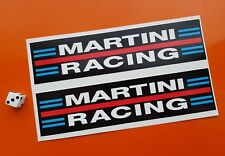 MARTINI RACING Car Stickers 200mm x 50mm Race Brabham porsche lancia