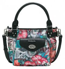 Desigual Yandi McBee Mini Hand Bag Handtasche Tasche Turquesa Rot Neu